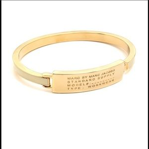 Marc Jacobs Gold Bangle Bracelet